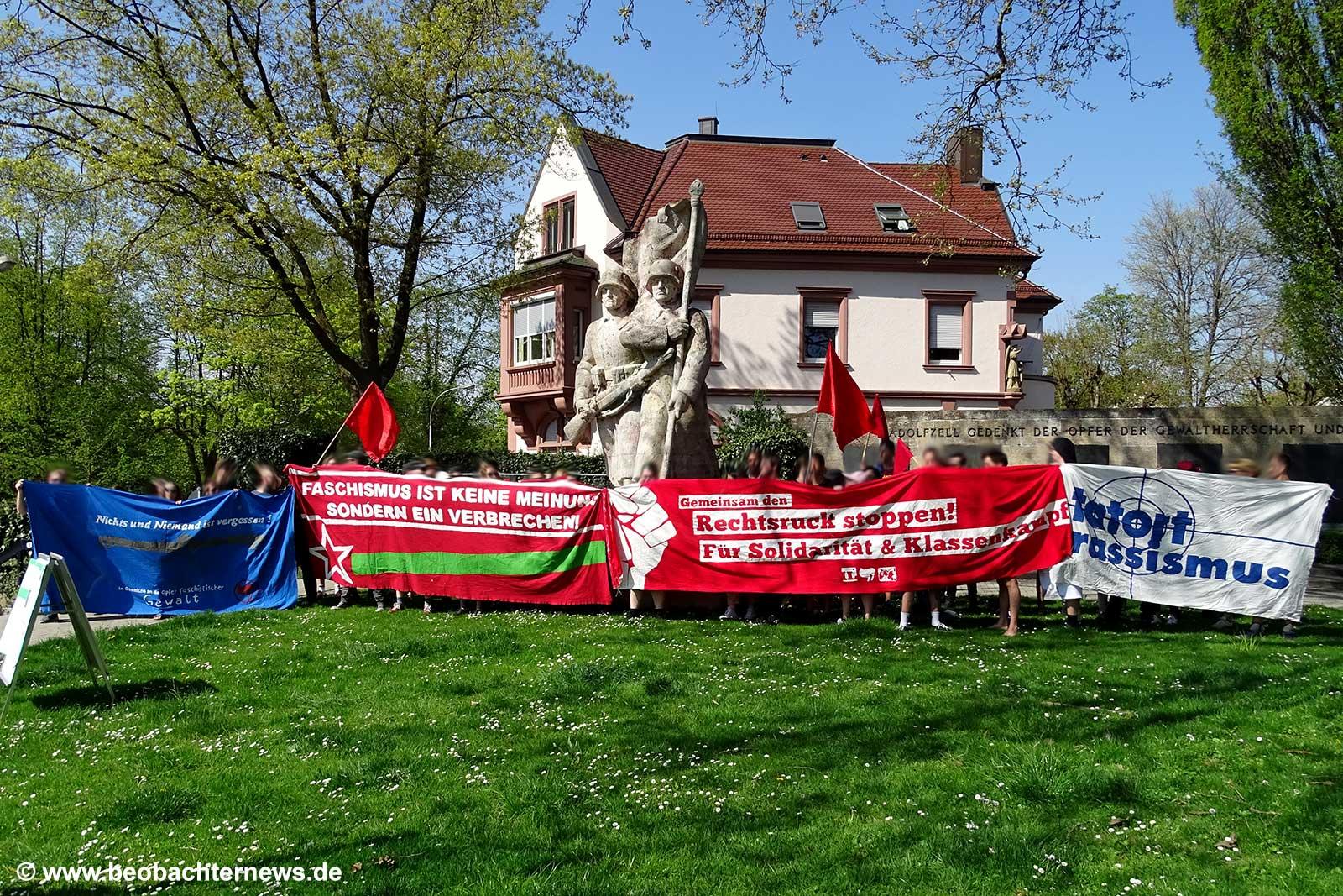 Kriegerdenkmal Radolfzell Antifa
