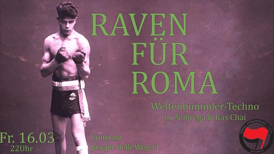 Raven für Roma Flyer